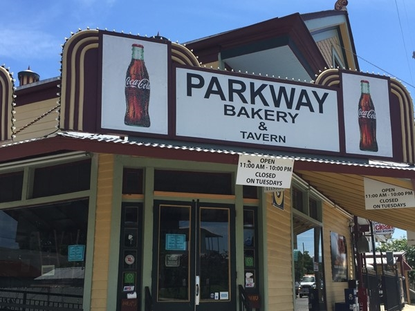 Parkway is a local favorite for poboys. I love their shrimp with a cold Barq's root beer