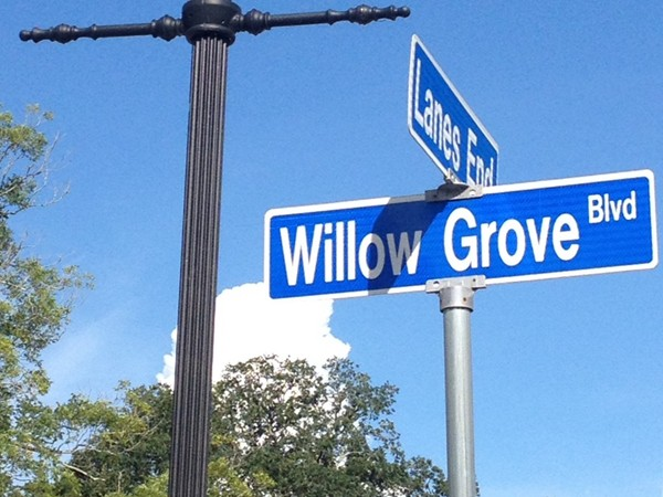 The Settlement at Willow Grove is one of my favorite traditional neighborhood developments