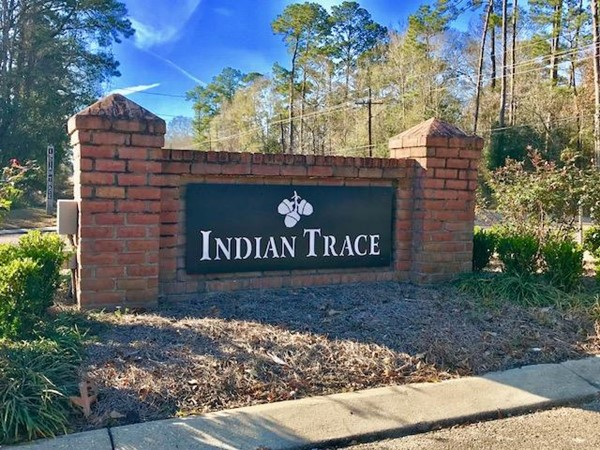Indian Trace is a gated community