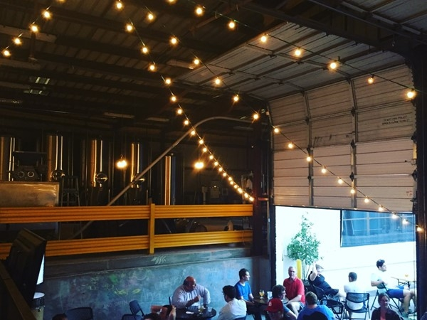 Second Line Brewing - the city's newest craft brewery + a great place to hang on a Friday night