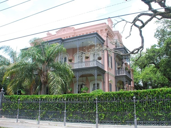 A unique and colorful Garden District house