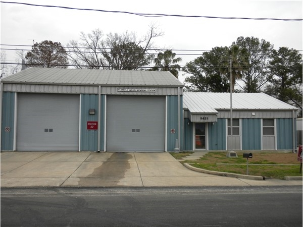 Eldred Umbach Fire Station in 9400 block of Jefferson Hwy. in River Ridge