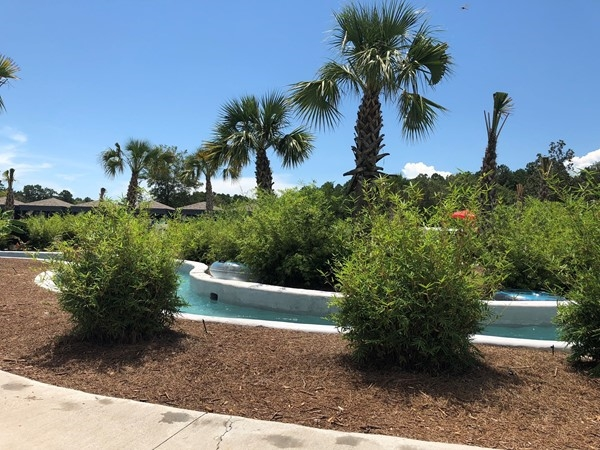 Float on the lazy river while camping at Reunion Lake!  Great local place to camp and have fun