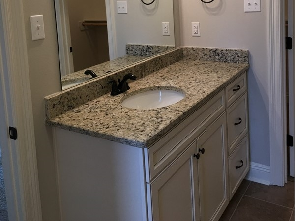 The Estates at Moss Bluff bathroom vanity