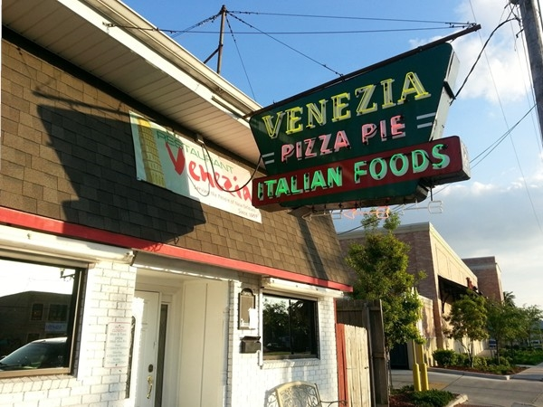 "A Mid-City favorite since the 1950s.  Venezia is home of the definitive ""old school"" PIZZA PIE!"