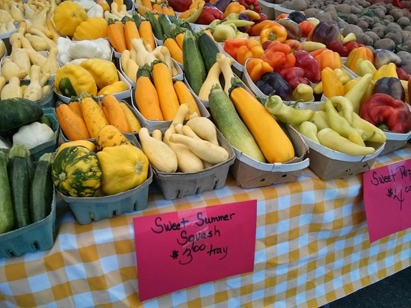 Come out on Thursday mornings to Pennington for the local farmer's market