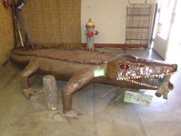 Cajun folk art - Youngsville