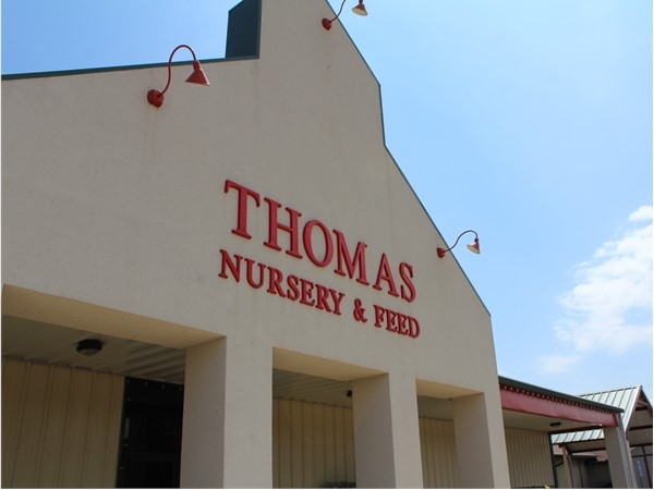 Thomas Nursery & Feed is one of Louisiana's largest farm and garden centers
