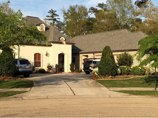 Here's an example of the beautiful homes in Marigny Trace subdivision.
