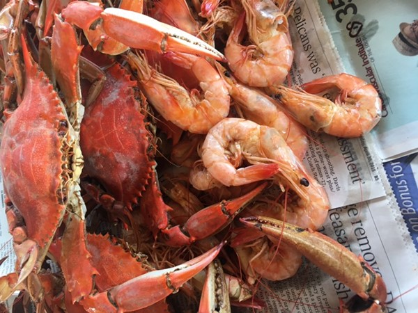 Amazing seafood is one of the many benefits of living in Baton Rouge