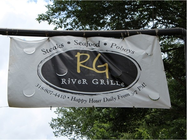The River Grille is located just outside of River Oaks neighborhood along the Bayou DeSiard