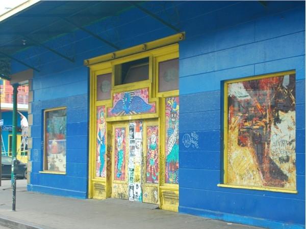 Art along Frenchmen