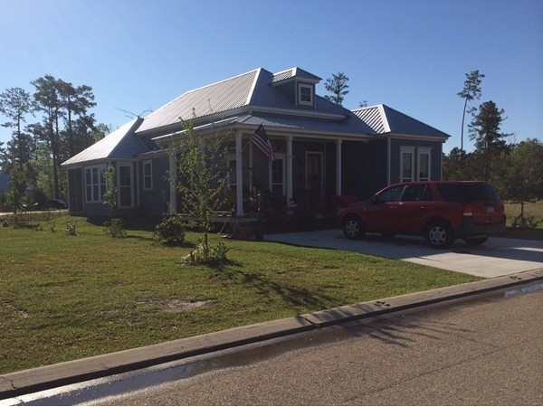 An example of the homes in Abita Oaks Subdivision, Abita Springs