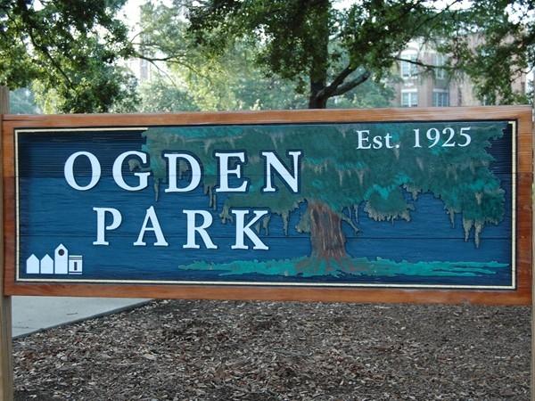 Ogden Park entrance