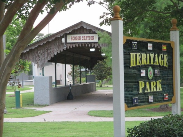 Heritage Park and Scogin Station, Slidell