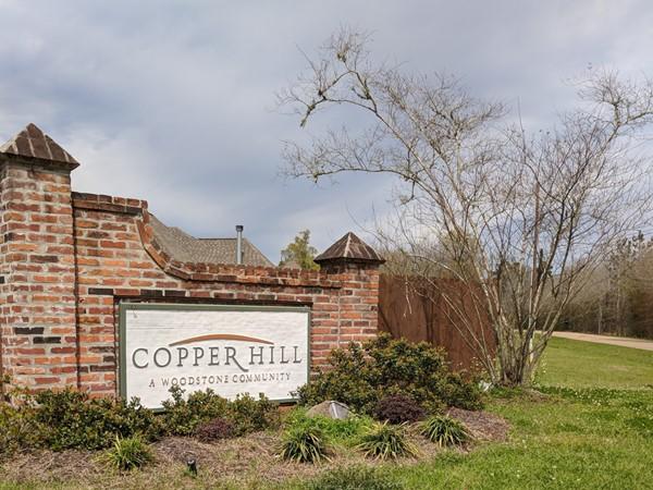 Copper Hill entrance