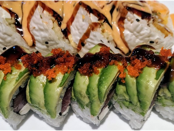 Beautiful, delicous Sushi in Downtown Hammond