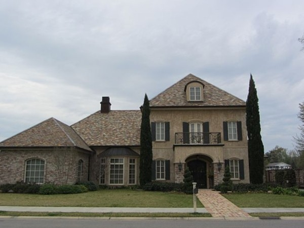 Estate home in the Village of River Ranch with amazing architecture
