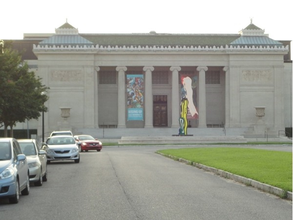 The New Orleans Museum of Art, near main entrance of City Park, at the end of Esplanade Avenue