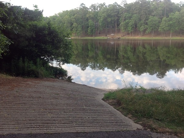 The boat ramp for Indian Lakes residents who do not live on a Wind Lake waterfront lot