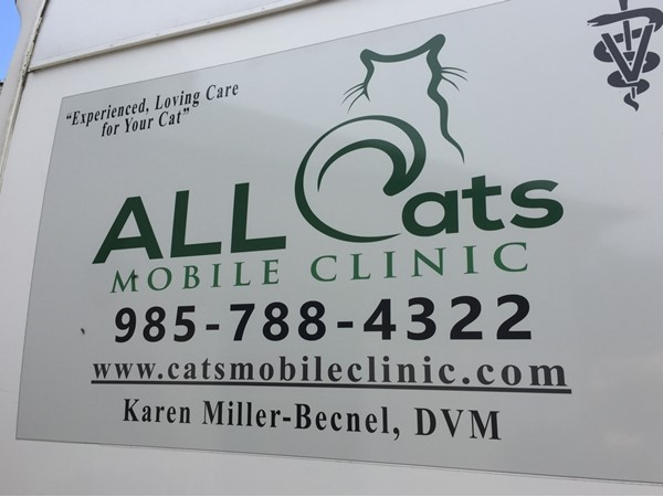 With All Cat's Mobile Clinic, kitty care comes to you