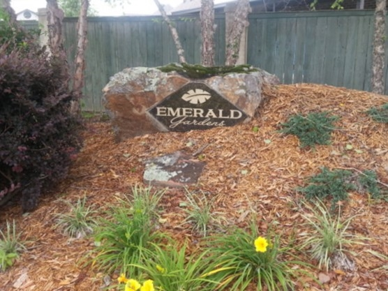 Emerald Gardens boasts newer homes near the center of town