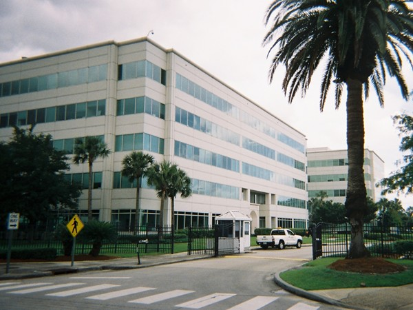 Entrance to Research and Technology Park, which is part of University of New Orleans