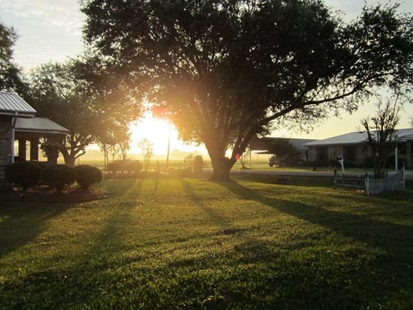 A sunrise in the neighborhood