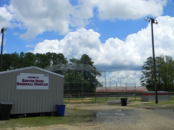 Ruston Dixie Baseball Complex proves Ruston has team spirit