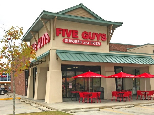 Five Guys Burgers and Fries on Hwy 21
