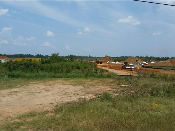 Site of New Haughton Middle School.