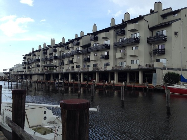 Condos at West End marina