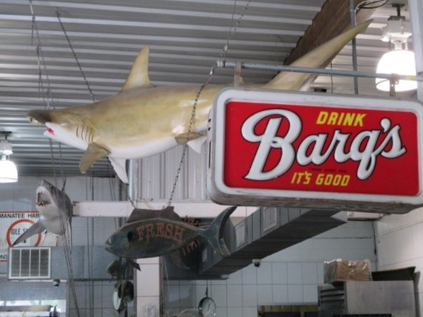 Kenney's Seafood serves fresh seafood and one of our local favorites, Barq's Rootbeer