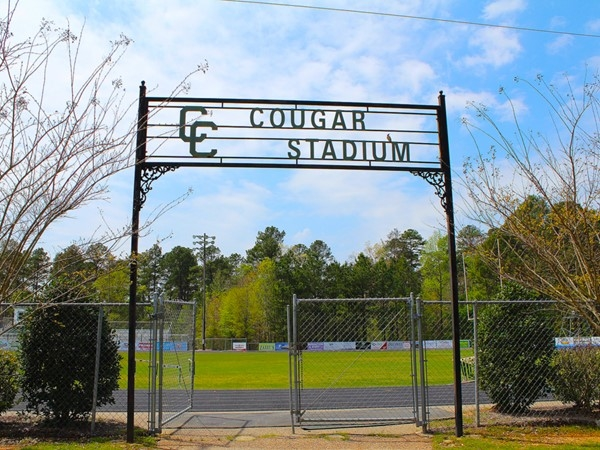 "Those who enter Cougar Stadium at Cedar Creek School understand their motto of ""Super Omnia"""