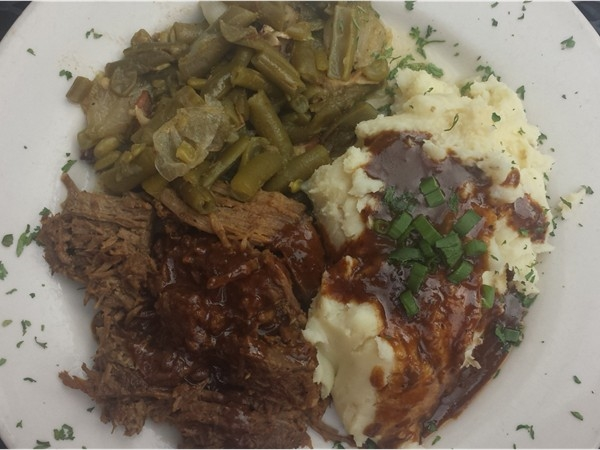 Creole Pot Roast at Bistro Byronz