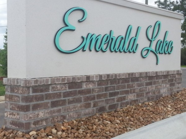 Entrance to Emerald Lake Development