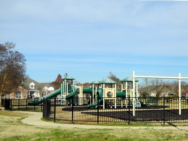 Children's playground in popular River Oaks Subdivision
