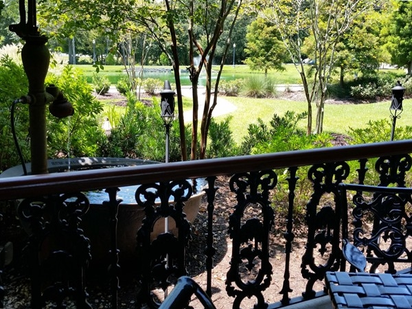 The views from Sammy's patios are some of the best in Prairieville