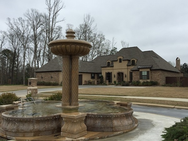 One of the lovely homes in Versailles Estates