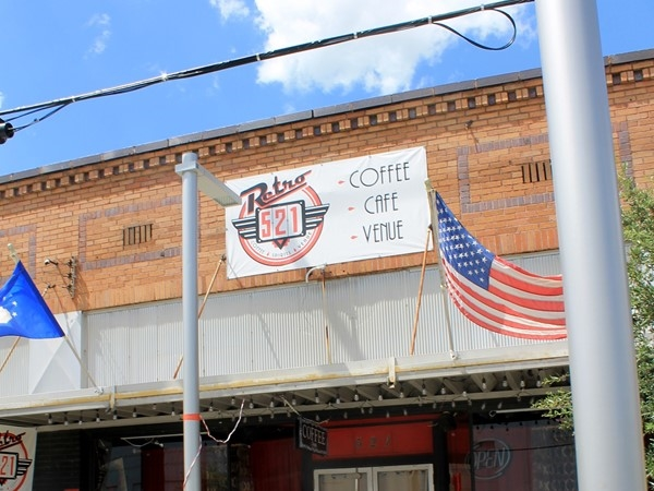 Retro 521 is a nice place for coffee in Bossier's East Bank District