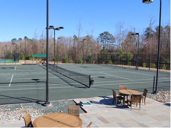 The Squire Creek Tennis Club has four Hydro courts for perfect playing conditions in any weather