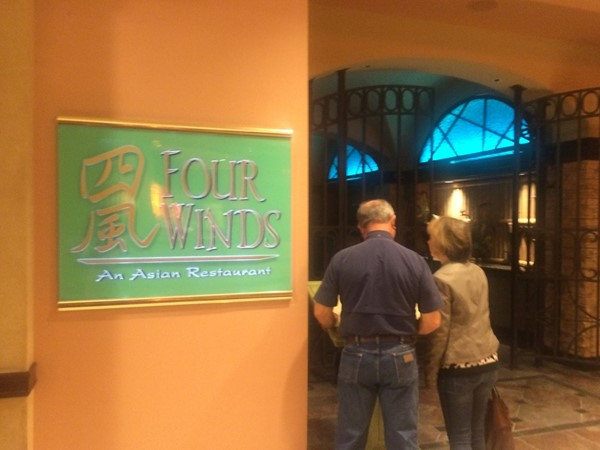 Four Winds inside Horseshoe Casino Venue. Asian dining at its best