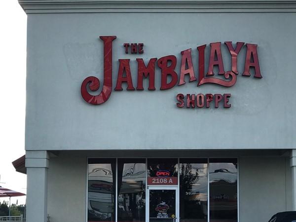 The Jambalaya Shoppe - home style Cajun food
