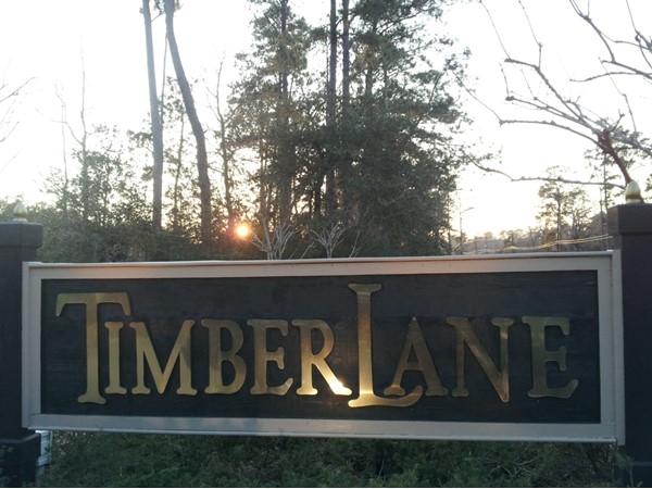 TimberLane Subdivision