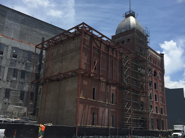 Old Dixie Brewery on Tulane Ave. is being developed into a new research office for the VA Hospital