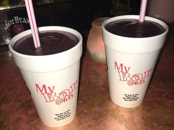 Lafitte's Blacksmith Shop's Purple Drink ~ Also known as the Voodoo Daiquiri