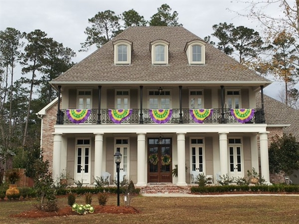 Mardi Gras time on the Northshore in St.Tammany Parish (New Orleans region)