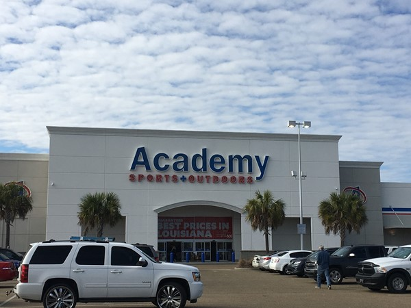 Academy carries a large selection of clothing, shoes, and supplies for all your sporting needs