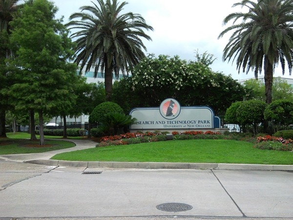 Research and Technology Park on shores of Lake Pontchartrain is part of University of New Orleans