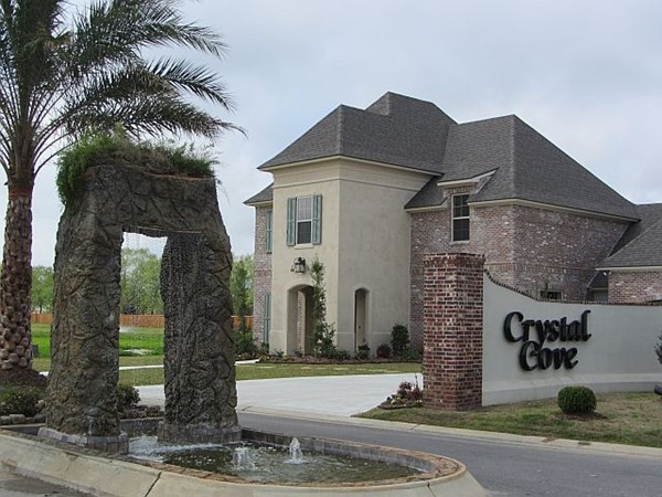 Entrance for Crystal Cove, Youngsville